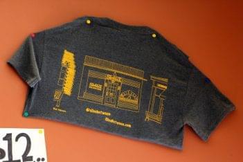 Slice Between Princeton NJ pizzeria shirt