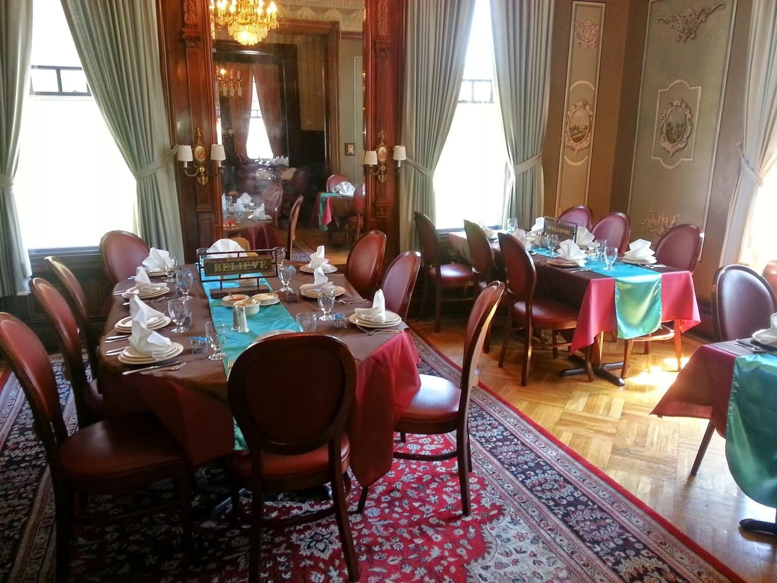 Spirito's Restaurant Providence RI dining room
