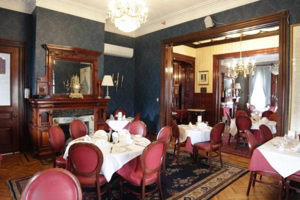 Spirito's Restaurant Providence RI fireplace dining