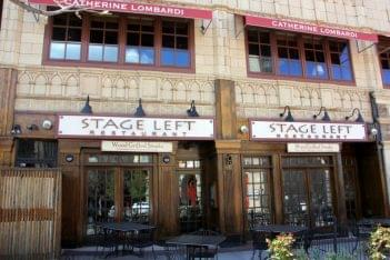 Stage Left New Brunswick NJ restaurant store front