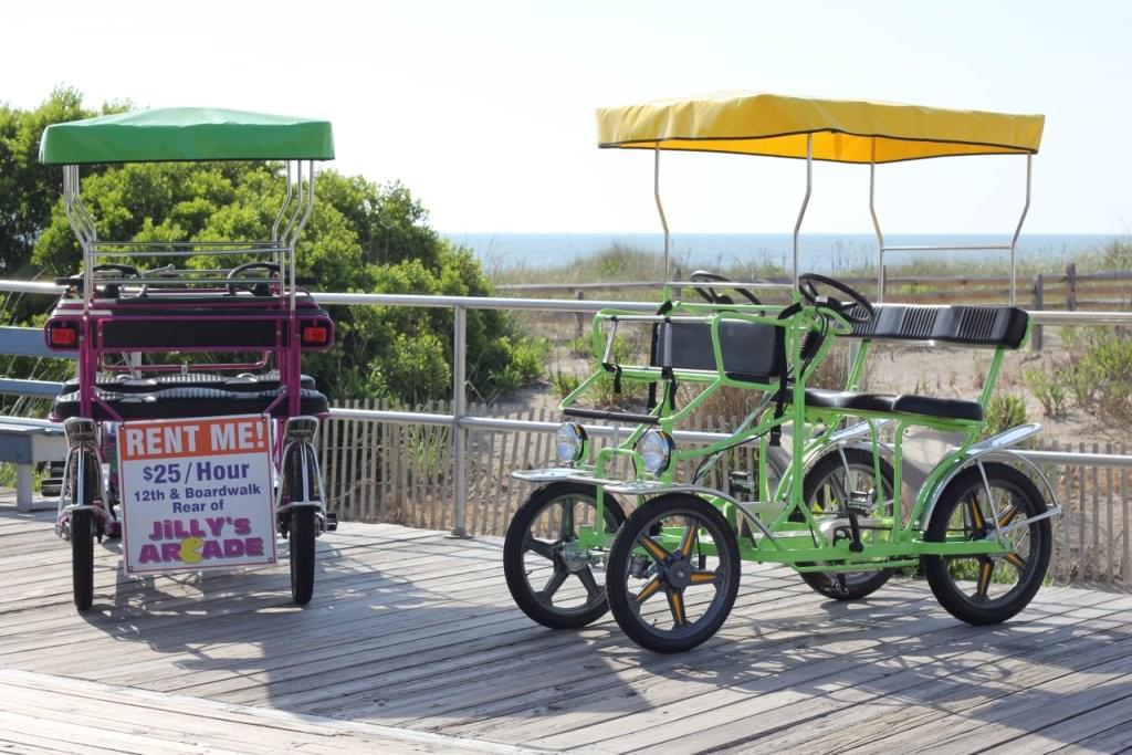 Surf Buggy Centers 12th St See Inside Bike Rental Ocean