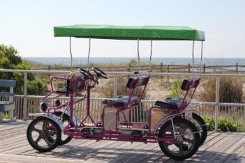 Surf Buggy Centers 12th St Ocean City NJ purple beach pedal buggy