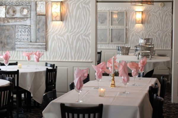 That's Amore Cape May NJ table setting