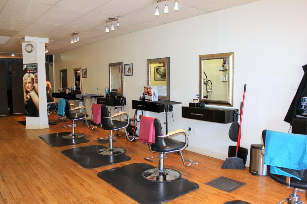 The Color Bar Hair Studio Palmyra NJ hair styling stations