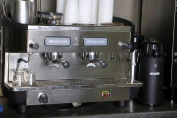The Daily Grind Mt Holly NJ espresso machine