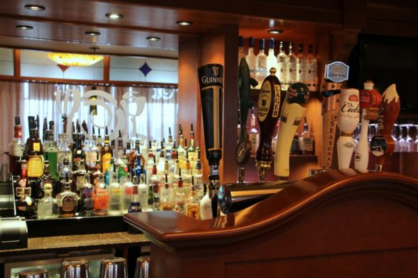 The Pub at Wegmans Collegeville PA draught beer taps liquor bar