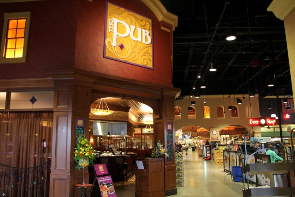 The Pub at Wegmans – See-Inside Bar and Restaurant, Collegeville, PA