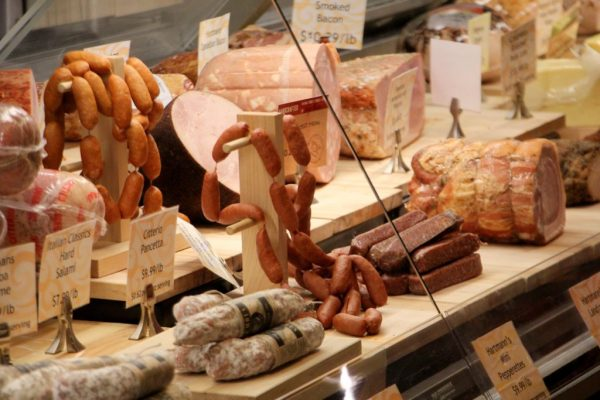 Wegmans Providence Town Center Collegeville PA meats butcher sausage links smoked bacon