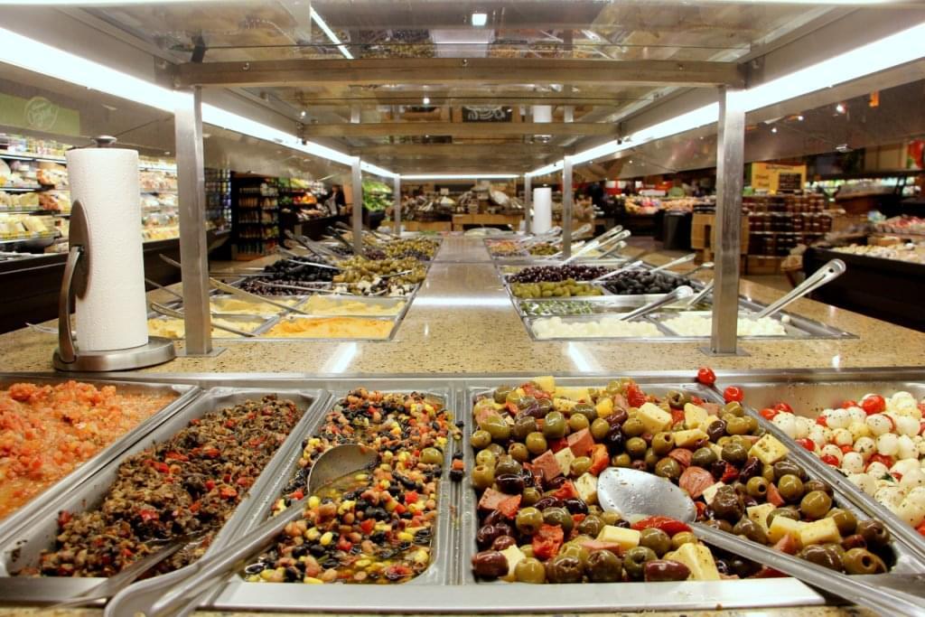 Wegmans see inside supermarket collegeville pa for Food bar wegmans