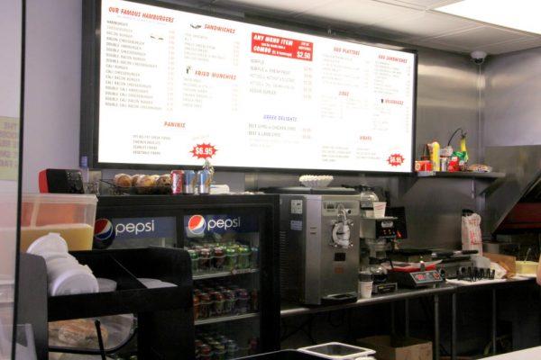 White Rose Hamburgers New Brunswick NJ menu