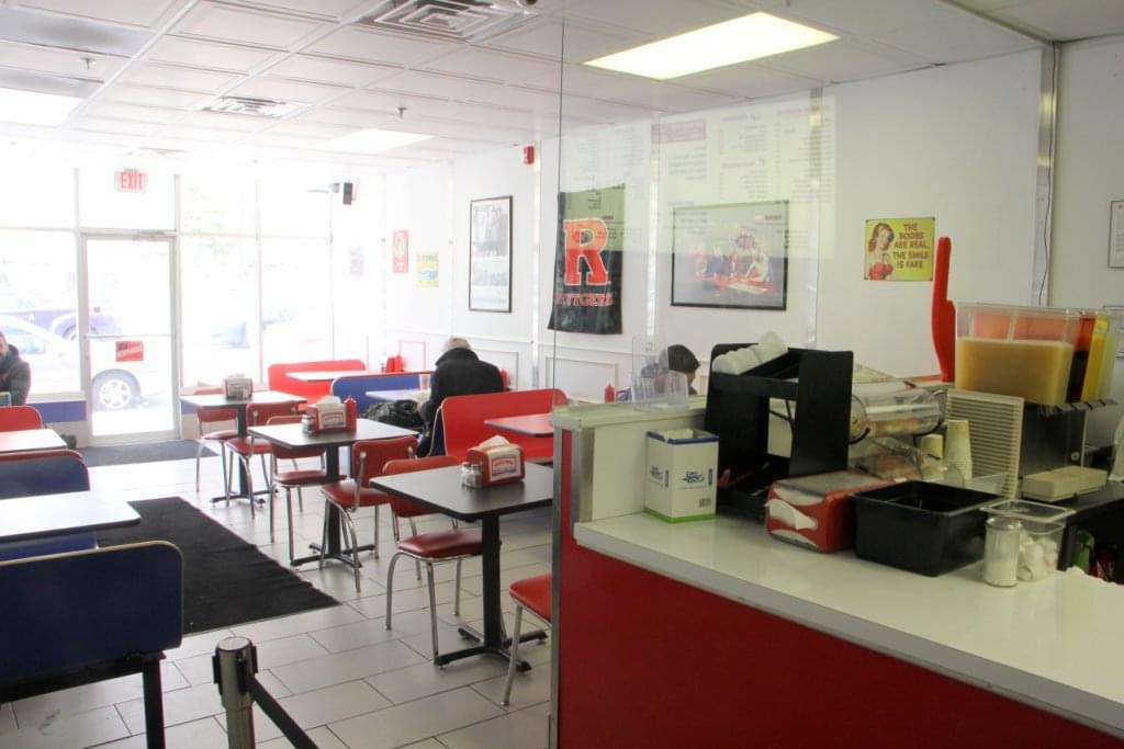 White Rose Hamburgers New Brunswick NJ seating