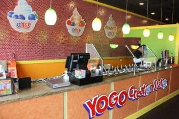 Yogo Factory Somerdale NJ frozen yogurt topping counter