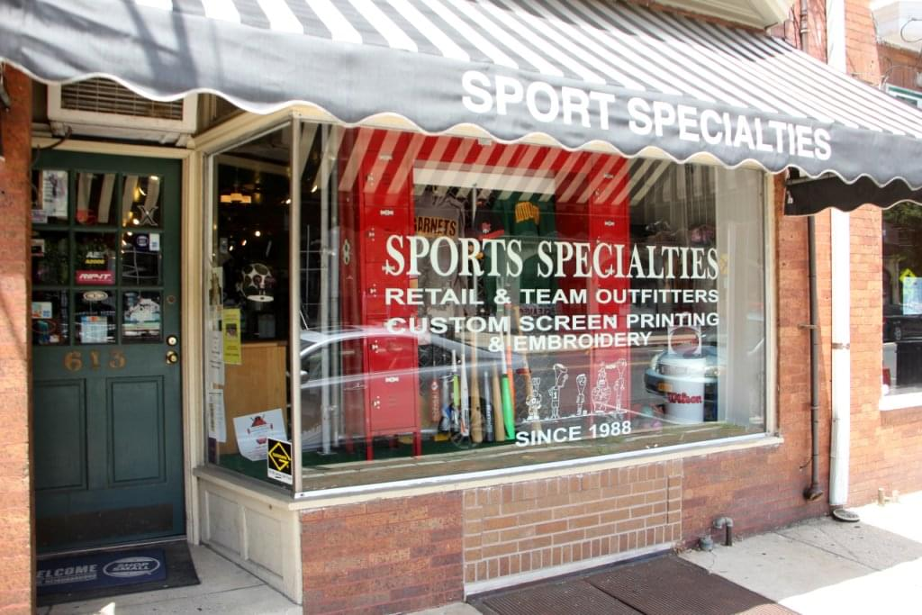 Sport Specialties – See-Inside Sporting Goods, Haddon Heights, NJ