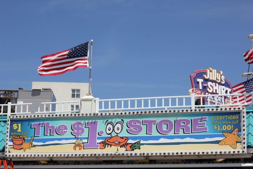 The Dollar Store – See-Inside Retail, Ocean City, NJ