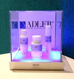 Adler Facial Plastic Surgery & Wellness Center Puerto Rico‎ acne treatment display