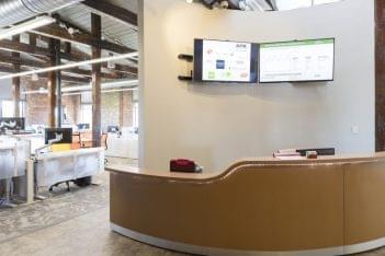 Alpha Office Supplies Inc Philadelphia PA front desk