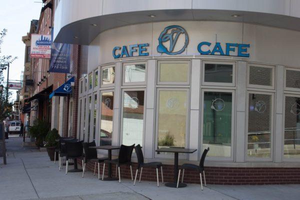 Cafe V Philadelphia PA store front