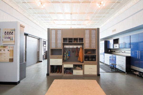 California Closets Edmond OK coat shoe rack