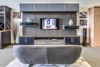California Closets Las Vegas NV Grand Canyon entertainment cabinet sofa