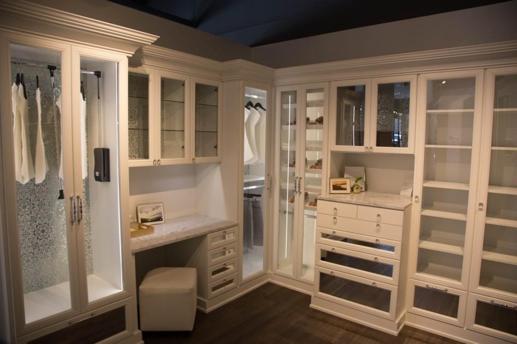 California closets see inside interior design san for Closet vanity ideas