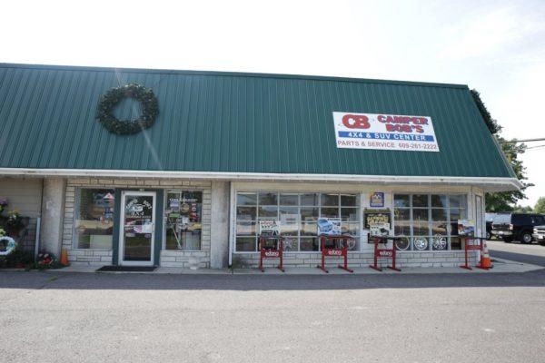 Camper Bob's Lumberton NJ store front