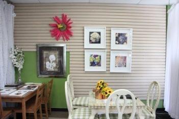 Cavello Floral Co Mt Laurel NJ wall flower table framed prints