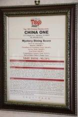China 1 Marlton NJ chinese restaurant ghost review