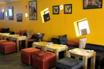 City Cafe & Bar New Brunswick NJ seating
