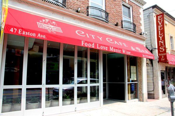 City Cafe & Bar New Brunswick NJ store front