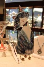 Fire & Ice Philadelphia PA Jewelery cat tilt head