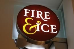 Fire & Ice Philadelphia PA Jewelery sign