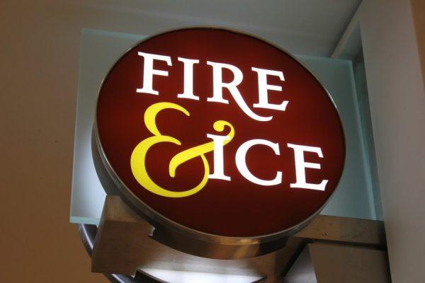 Fire & Ice Philadelphia PA Jewelery sign