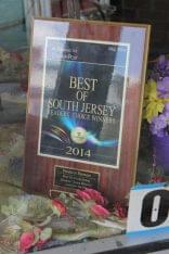 Freshest Flowers Haddon Heights NJ award