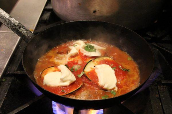 Giorgio On Pine Philadelphia PA Italian restaurant cooking over stove fire