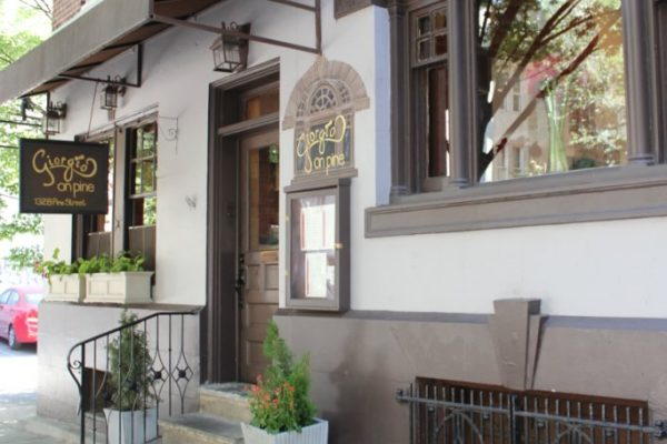 Giorgio On Pine Philadelphia PA Italian restaurant front