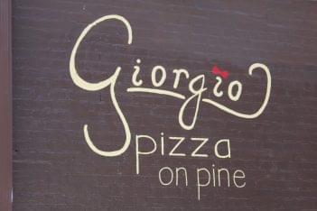Giorgio Pizza on Pine Philadelphia PA logo
