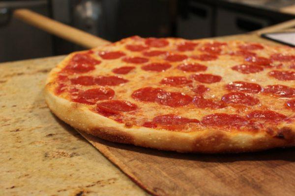 Giorgio Pizza on Pine Philadelphia PA pepperoni pizza