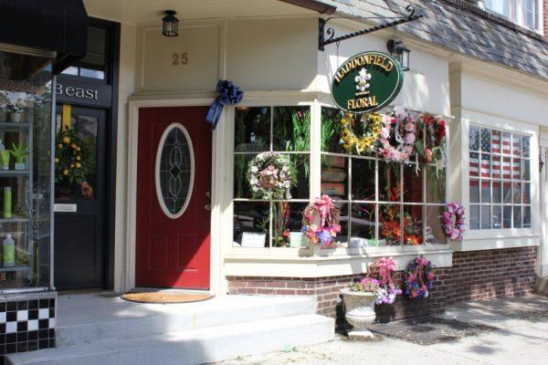 Haddonfield Floral Company NJ florist store front