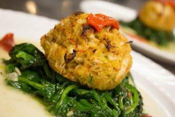 Illiano Cucina Medford NJ Italian Restaurant crabcake