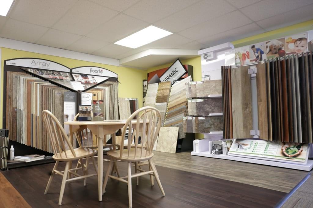 Jake Tiver Floor Coverings Medford NJ table chairs flooring