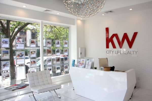 Keller Williams City Life Realty Hoboken NJ front desk