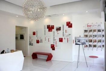 Keller Williams City Life Realty Hoboken NJ reception lobby