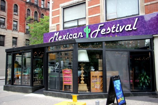Mexican Festival Restaurant New York City NY store front