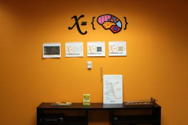 NetElixir Inc Princeton NJ orange wall x variable set brain