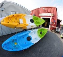 Paddle Shack Egg Harbor Township NJ boats store front