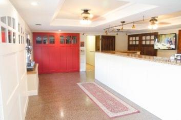 RW Garage Doors Vacaville CA red door