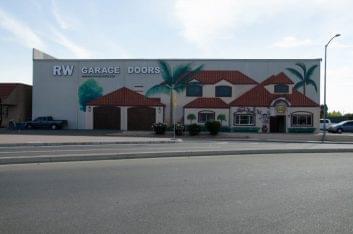 RW Garage Doors Vacaville CA store front