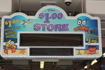 The Dollar Store Ocean City NJ sign