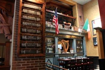 Tir na nÓg Cherry Hill Irish pub beer list