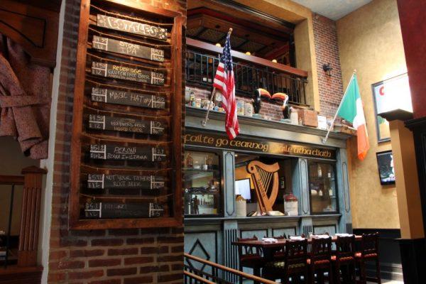 Tir na nÓg Cherry Hill Irish pub beer list